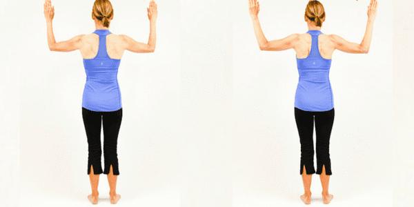 Exercise – Standing W Scapular Retraction