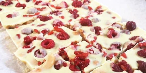 Macadamia and Berry White Chocolate